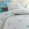 Wildkin Olive Kids Pirates Twin Duvet Cover