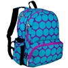 Wildkin Big Dot Aqua Megapak Backpack