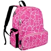 Pink Giraffe Megapak Backpack