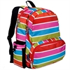 Bright Stripes Megapak Backpack