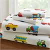 Wildkin Olive Kids Trains, Planes, Trucks Toddler Sheet