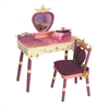 Wildkin Levels of Discovery Princess Vanity Table & Chair Set