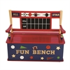 Wildkin Levels of Discovery All Star Sports Bench Seat w/ Storage