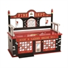 Levels of Discovery Firefighter Bench Seat w/ Storage