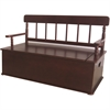 Levels of Discovery Cherry Finish Bench Seat w/ Storage