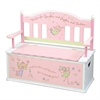 Wildkin Levels of Discovery Fairy Wishes Bench Seat w/ Storage