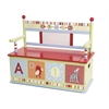 Wildkin Levels of Discovery Alphabet Soup Bench Seat w/ Storage