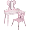 Wildkin Levels of Discovery Sugar Plum Vanity & Chair Set