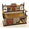 Levels of Discovery Wild West Bench Seat w/ Storage