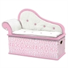 Wildkin Levels of Discovery Pink Wild Side Bench Seat w/ Storage