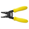 "Klein Tools Wire Stripper/Cutter, 10-18 AWG, 6 1/4"" Tool Length, Yellow Handle"