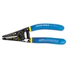 "Wire Stripper/Cutter, 10-18 AWG, 7 1/8"" Tool Length, Blue/Yellow Handle"