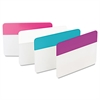 Post-it File Tabs, 2 x 1 1/2, Assorted Pastel, 24/Pack