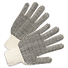 Regular-Weight PVC-Dot String-Knit Gloves