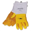 Anchor Brand 850GC Premium Welding Gloves, Cowhide, Large, Gold