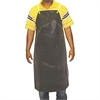 "Hycar Bib Apron with Cloth Backing, 24"" x 36"", Black"
