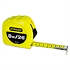"Stanley Tools Tape Rule, 1"" x 26ft"