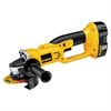 "DeWalt DC411KA Cordless Cut-Off Tool, 4 1/2"" Wheel, 18V, 6, 500rpm, Yellow/Black"