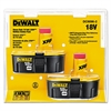 DeWalt XRP Rechargeable Battery Pack Combo, 18.0 V
