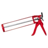 Red Devil Skeleton-Frame Caulking Gun, Pistol-Grip, 12oz, Red