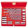RIDGID No. 10 Screw Extractor Set, 20-Piece, Spiral-Flute