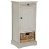 Safavieh Raven Tall Storage Unit, Vintage Grey