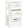 Samara 3 Drawer Cabinet, Grey