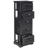 Safavieh Sarina 5 Drawer Cabinet, Black