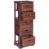 Sarina 5 Drawer Cabinet, Cherry