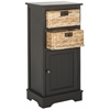 Connery Cabinet, Distressed Black