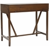 Wyatt Writing Desk W/Pull Out, Dark Teak