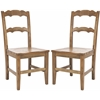Safavieh Beecher Side Chair (Set Of 2), Oak