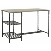 Safavieh Jayden Desk With Shelves, French Grey