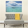 Caribbean Seas Diptych Wall Art, Assorted