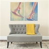 Summer Shooz Diptych Wall Art, Assorted