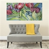 Nouveau Tulips Triptych Wall Art, Assorted