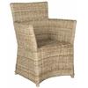 Safavieh Natuna Arm Chair, Natural