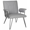 Safavieh Johannes Arm Chair, Grey