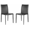 Safavieh Karna Dining Chair, Black Croc