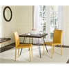 Karna Dining Chair, Antique Yellow