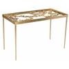 Safavieh Otto Ginkgo Leaf Desk, Antique Gold Leaf