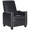 Safavieh Holden Recliner Chair, Black / White