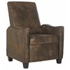 Holden Recliner Chair, Vintage Brown