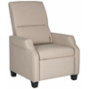 Safavieh Hamilton Recliner Chair, Beige