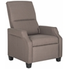 Safavieh Hamilton Recliner Chair, Dark Taupe