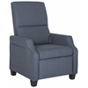 Safavieh Hamilton Recliner Chair, Navy