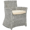 Cabana Arm Chair, Grey White Wash / Beige