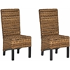 Pembrooke Rattan Side Chair, Natural