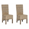 Pembrooke Rattan Side Chair, Natural Unfinished