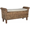 Safavieh Palermo Bench, Brown